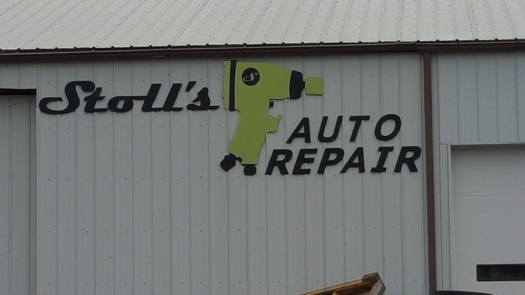 Stoll's Autobody Custom Signage