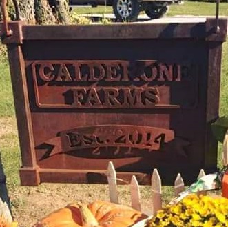 Calderone Farms - Custom Sign