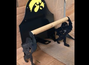 Hawkeye Paper Towel Holder