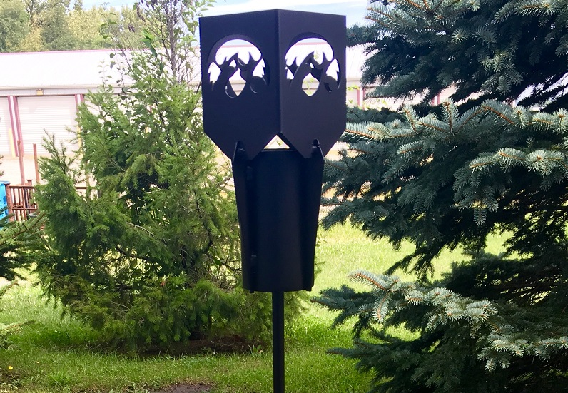 Hawkeye Tiki Torch