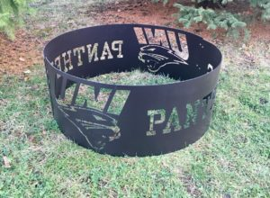 UNI Panthers fire ring