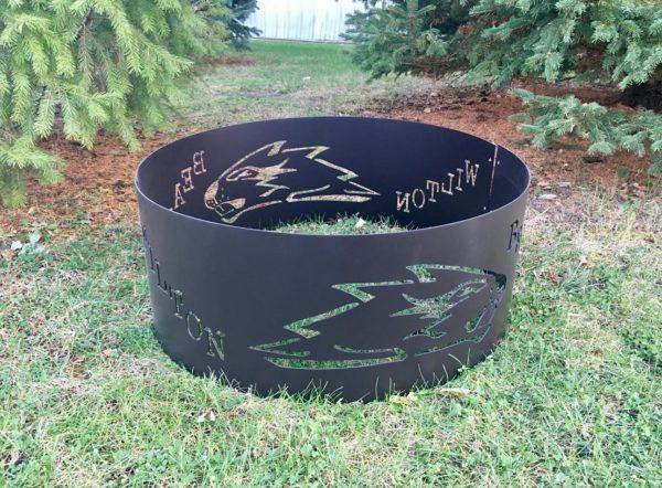 Wilton Beavers fire ring